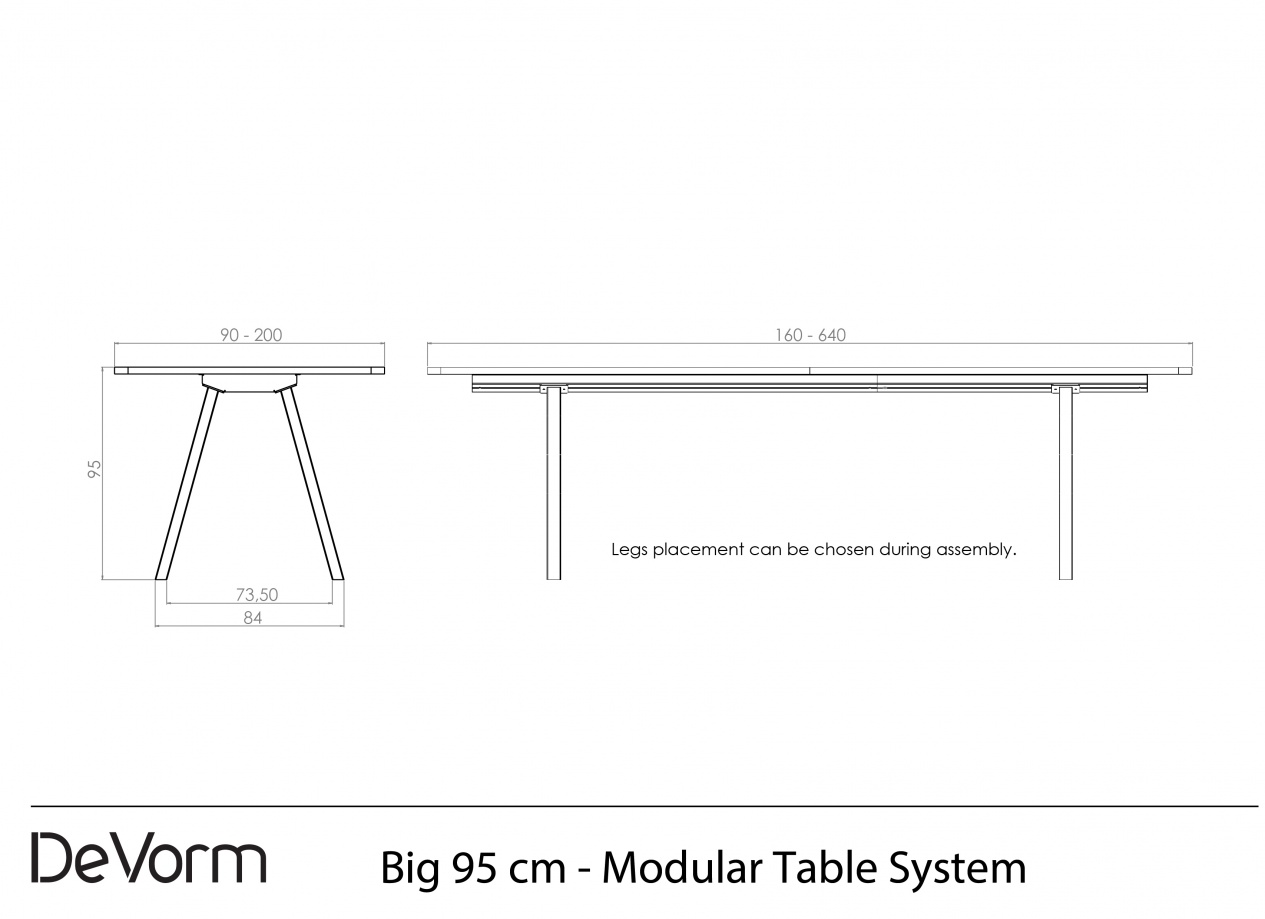 Big 95 cm - Technical Drawing preview