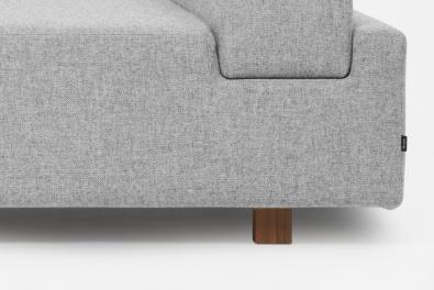 Choose wooden legs or a plinth