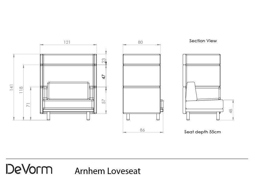 Arnhem Loveseat preview
