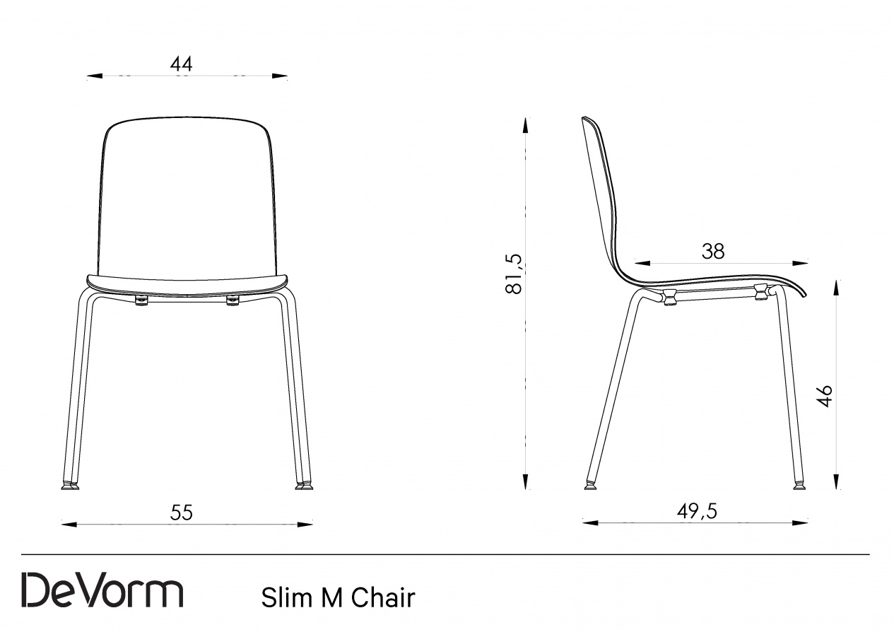 Slim M Chair preview