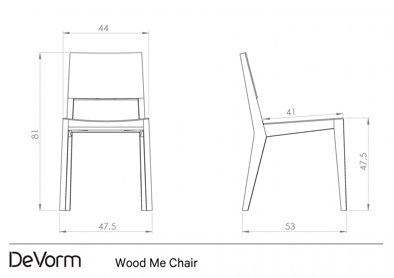 Wood Me Chair preview