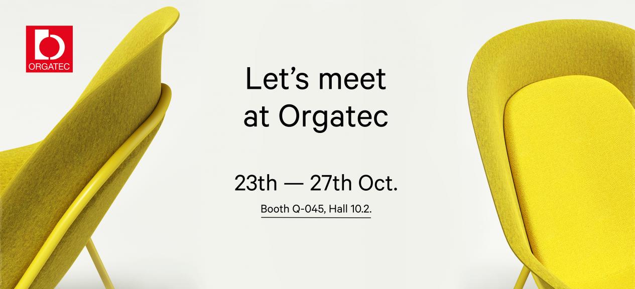 Orgatec De Vorm 2018 Let's Meet