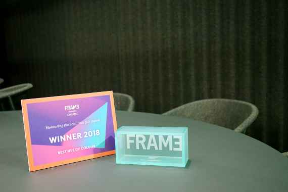De Vorm wins FRAME Award: Best Use of Colour
