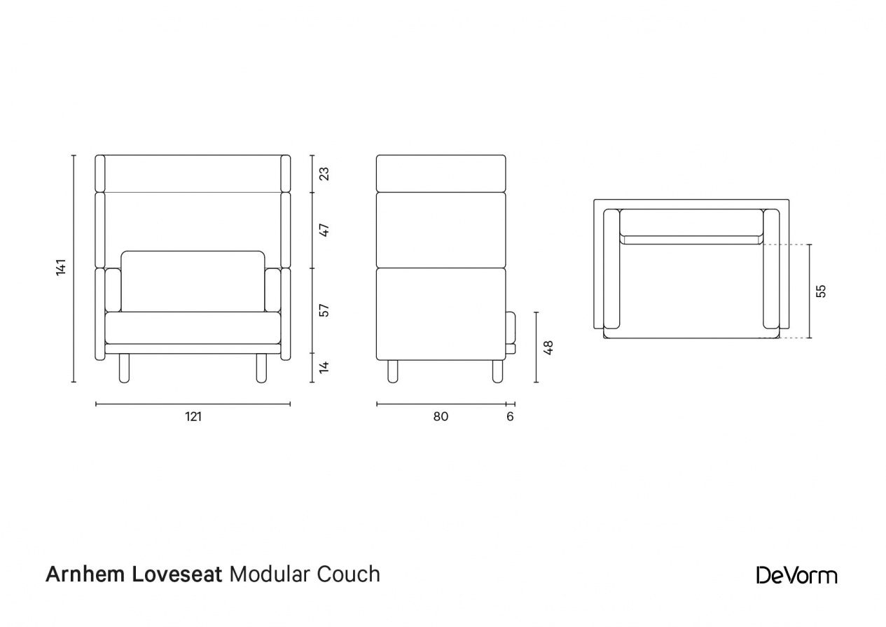 Arnhem Loveseat preview