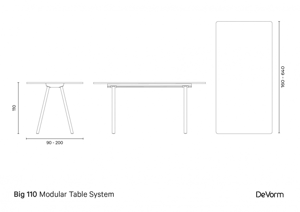 Big 110 cm - Technical Drawing preview