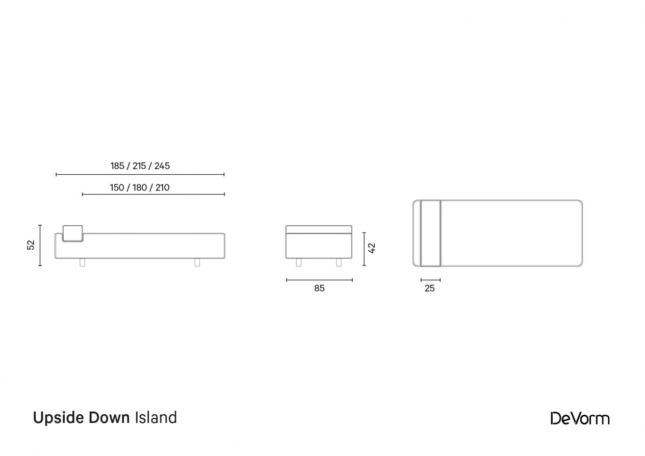 Upside Down Island | Technical drawing preview