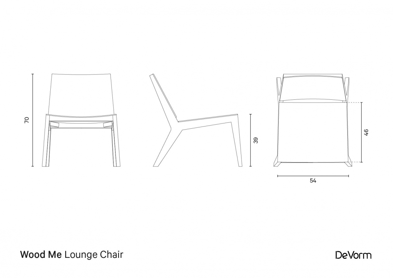 Wood Me Lounge Chair preview