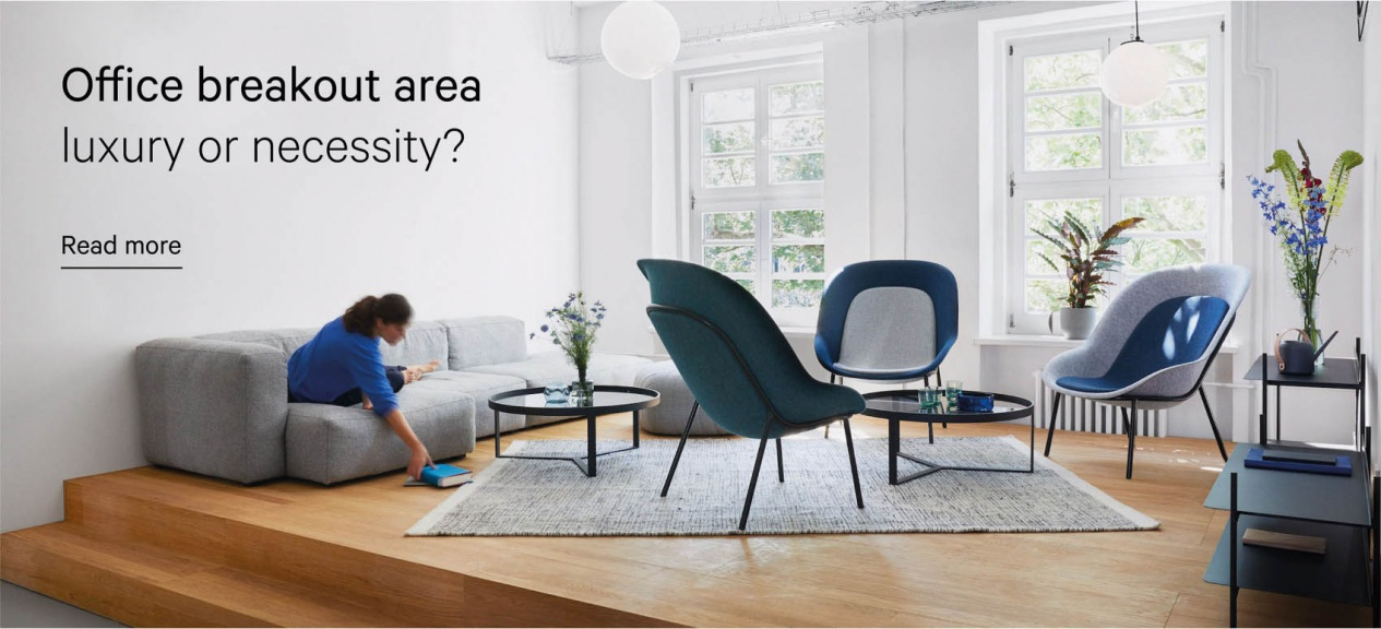 De Vorm for Office | Why Every Workplace Needs a Breakout Area