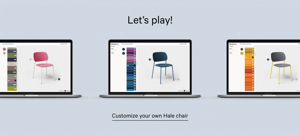 Now available | Hale Configurator