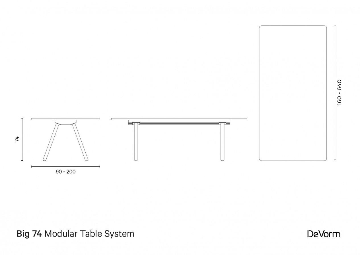 Big 74 | Technical drawing preview