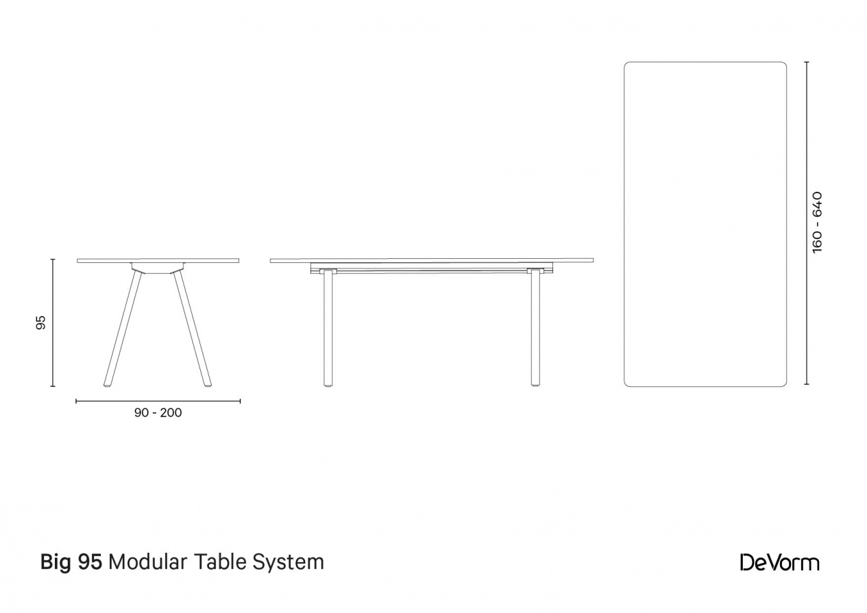 Big 95 | Technical drawing preview