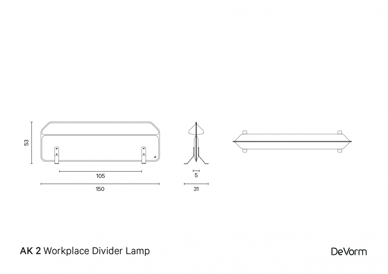 AK 2 Standing | Technical drawing preview