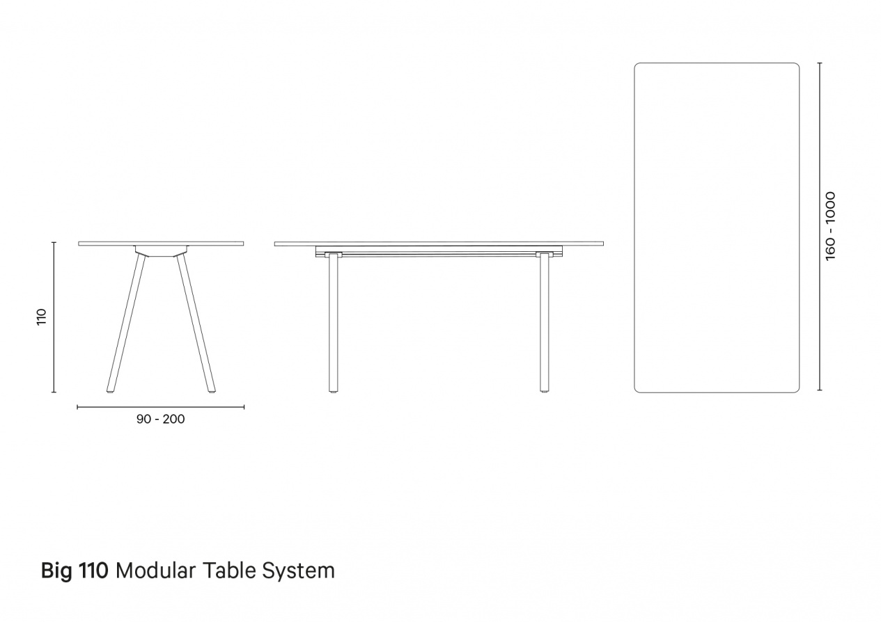 Big 110 - Technical drawing preview