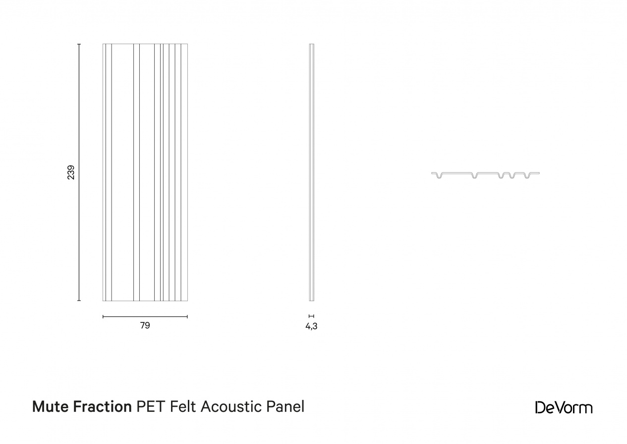 Mute Fraction | Technical drawing   preview