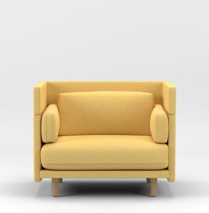 Loveseat_94cm_yellow