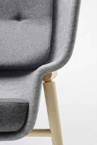 Pod_Chair_PET_Felt_PETstoel_Benjamin_Hubert_De_Vorm_Acoustic. «