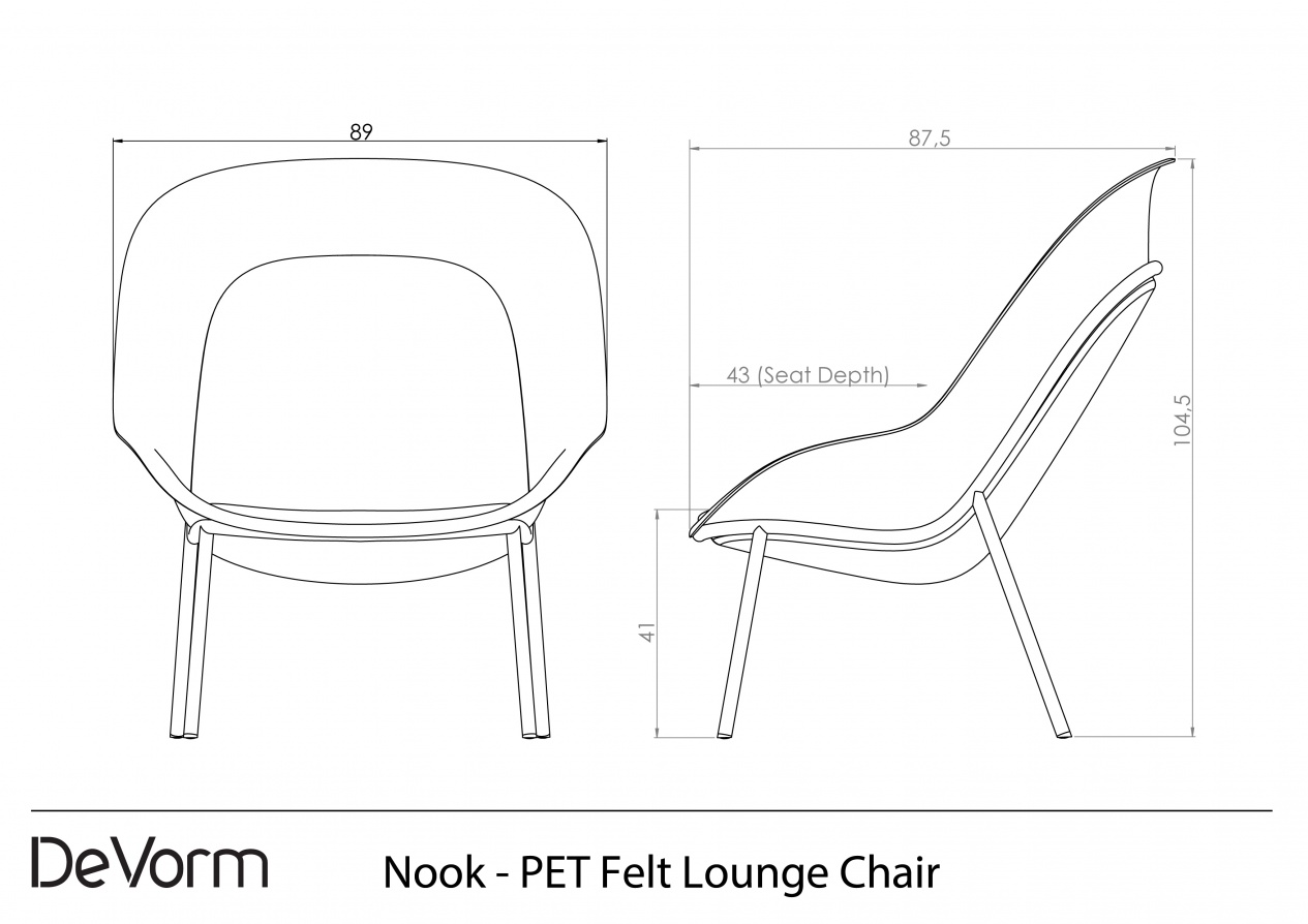 Nook - Technical Drawing preview