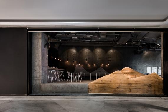 DeVorm Daipu Architects PET Felt Chairs Design LJ Series 2 Cups Bar 4
