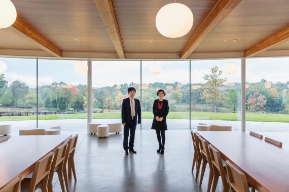 Ryue Nishizawa and Kazuyo Sejima Grace Farms Commons c Dean Kaufman  0126 1