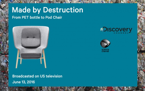 """Pod Chair in new television series """"Made by Destruction"""""""